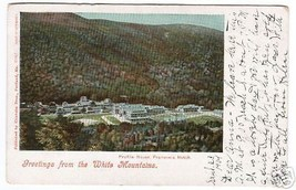 Profile House Franconia Notch New Hampshire 1904 postcard - $5.94