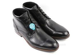 Mens Rockport Dustyn Chukka Boot - Black Leather Size 13 [CH1991] - $84.99