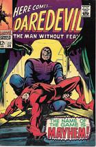 Daredevil Comic Book #36 Marvel Comics 1968 FINE+ - $26.98