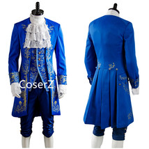 Beauty and the Beast Cosplay Costume, Prince Dan Stevens Costume Full Sets - $126.00