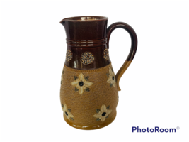 Royal Doulton Lambeth vtg England Pottery stoneware 9566 Pitcher Creamer... - $91.74