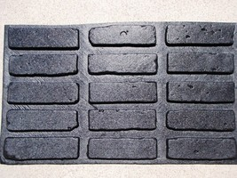"""Antique Brick Veneer Side Molds 8x2"""" Cover Wall Floor Patio, 45+5 FREE Fast Ship image 1"""