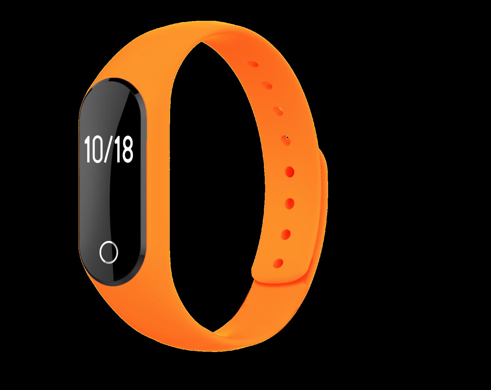 FitR™ Bluetooth Fitness Tracker Heart Rate Monitor Smart Bracelet Watch with App