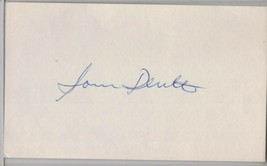 SAM DENTE Auto/Autograph 3x5 Index Card Red Sox/Browns/Senators (1922-2002) - $8.96