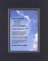 Touching and Heartfelt Poem for Motivations - Look On the Sunny Side Poem on 11  - $15.79