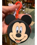 Disney Parks Exclusive Mickey Mouse Mini Coin Purse Clip Keychain New - $19.59