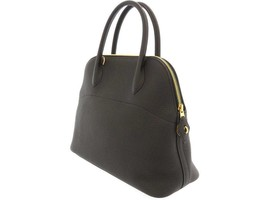 HERMES Bolide 31 Taurillon Clemence Noir 2Way Handbag Shoulder Bag #C Authentic - $7,531.85