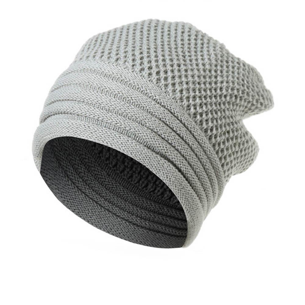 67cf5460d3f Men Women s cap Winter Warm Wool Knit Ski Beanie Caps Hat Casquette homme  Gorras