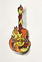 Hard Rock Cafe ALL ACCESS Fire Guitar Pin - $6.95