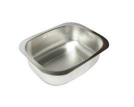 Wonang Stainless Steel Dishpan Basin Dish Washing Bowl Bucket Basket Tub