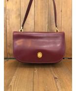 Authentic GUCCI Burgundy Leather Shoulder Bag - $375.00