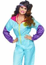 Leg Avenue Sorprendente 80s Chándal Retro Adulto Mujer Disfraz Halloween... - $42.14