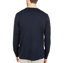 Men's Psycho Bunny Long Sleeve Sheffield Gradient Graphic Tee Logo Navy Shirt image 4