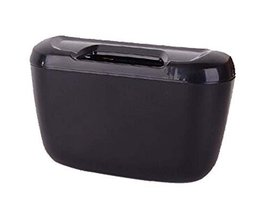 Fashionable Car Trash Cans/Green Box/Storage Box, Black