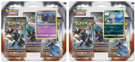 Pokemon Sun & Moon Burning Shadows 3-Pack Booster Blister Packs Set of 2 - $28.99
