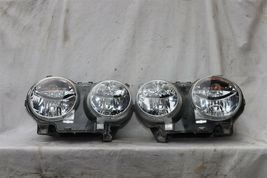 04-07 Jaguar XJ8 XJR VDP Headlight Lamp HALOGEN Set L&R POLISHED image 4