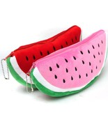 Red Practical Case Volume Watermelon Kid Pen Pencil Case Gift Purse Wall... - $3.99