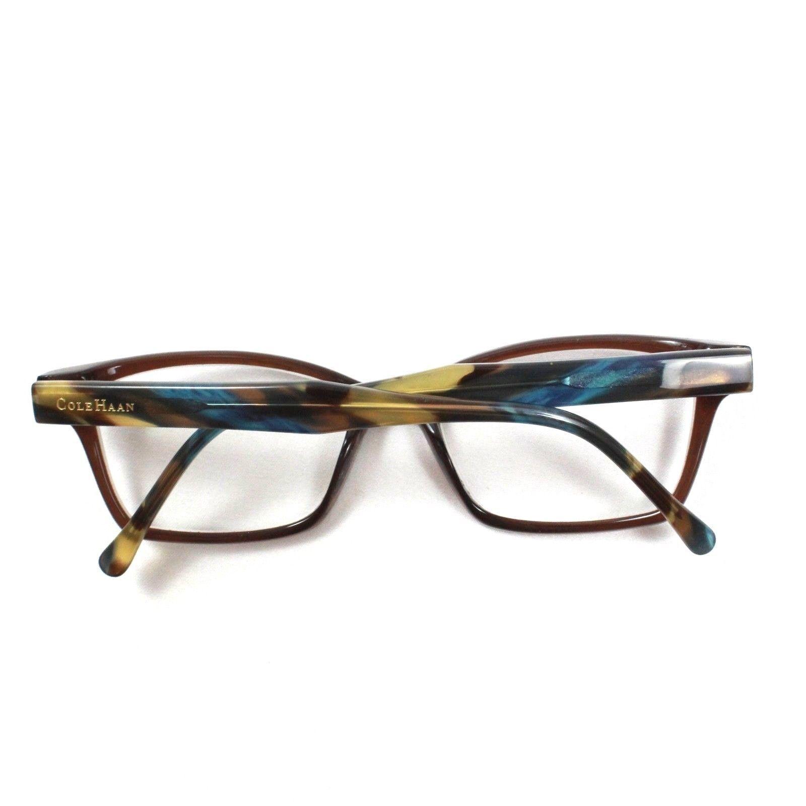 e27da8ea349e7 Cole Haan Women s Glasses CH 1021 Brown Marbel Eyeglasses 50 Eye Size  PLASTIC