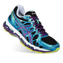 NEW  Women's Asics Kayano 20 Training Shoes  Size 6.5 D WIDE T281N Black... - $134.99