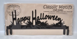 Clásico Detalles 30.5cm Feliz Halloween Encabezado Manualidades Soporte - $23.39