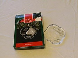 RARE ornament Hallmark Christmas A special Person like you is every Chil... - $10.81