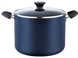 Cook N Home Nonstick Stockpot With Lid, 10.5 Quart, Blue - $39.91