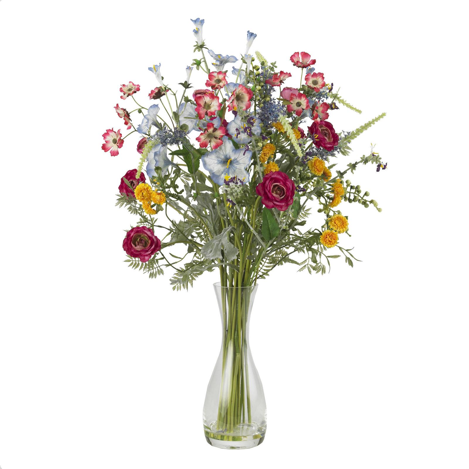 Veranda Garden Silk Flower Arrangement - $104.56