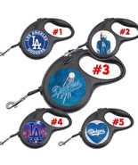LA Dodgers Los Angeles Retractable Dog Leash tangle free upto 110 lb pet... - $22.30+