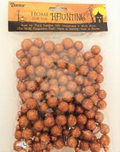 Darice Christmas Decor - Foam Glitter Berry Ball Fillers ORANGE #1189-81 - $8.86