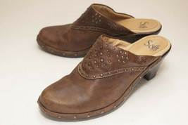 Sofft US 7.5 M Brown Mules Women's - $42.00