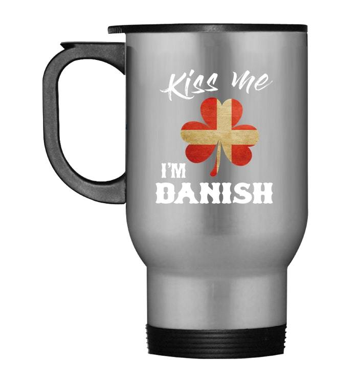 Primary image for Kiss Me Im Danish Travel Mug