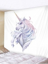 Unicorn Wall Tapestry/Throw 91 x 71 inches  - $37.97