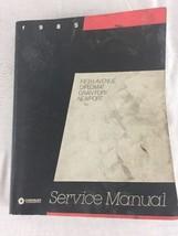 1985 Chrysler Fifth Avenue, Diplomat, Gran Fury, Newport Service Manual - $19.75