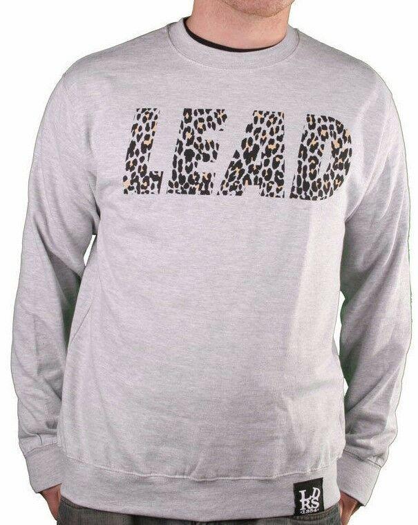 Leaders 1354 Chicago Wild Things Gray Crewneck Long Sleeve Sweater Sweatshirt NW