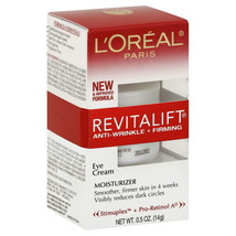 L'oreal Revitalift Anti-Wrinkle + Firming Eye Cream 0.5 OZ - $9.89