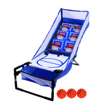 Kids Basketball Shooting Machine Electronic LED Scoring Record Home Indo... - $85.40