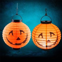 Halloween Pumpkin Lantern Indoor Outdoor Holiday Party Decor - £6.20 GBP