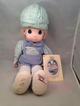 Precious Moments Colin Doll signed Debbie Butch... - $39.15