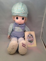 Precious Moments Colin Doll signed Debbie Butcher 1993 New - $39.15