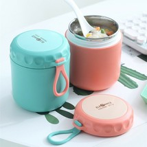 Thermal Lunch Box Food Container with Spoon,Stainless Steel Box Mini , P... - $34.65+