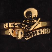 RING SET Tweety Bird WARNER BROS LOONEY TUNES WB STORE Gold BEST FRIENDS... - $19.79