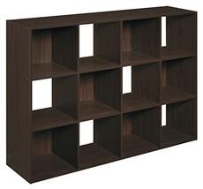 ClosetMaid 1292 Cubeicals Organizer, 12-Cube, Espresso - $97.22