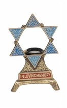 Israel Coins and Medals Corp. L-980 Electric Yahrzeit Memorial Holder wi... - $61.46