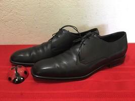 Salvatore Ferragamo Lace-up Classic Oxford Dress Shoe Black Leather US10 - $60.00