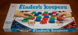 1969 FINDER'S KEEPERS Milton Bradley BOARD GAME - $19.80