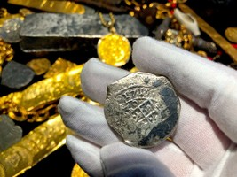 MEXICO 1715 FLEET FULLY DATED 8 REALES REAL EIGHT KIPP WAGNER PIRATE GOL... - $9,950.00