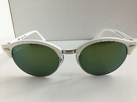 Ray-Ban Clubmaster White Silver Unisex Sunglasses - $69.99