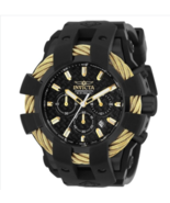 Invicta Bolt Men's Quartz 48MM Gold/Black - Model 23866 - $199.95
