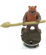 Star Wars Attacktix WICKET Action Battle Figure Hasbro Series 4 03 Chrome Base - $9.49