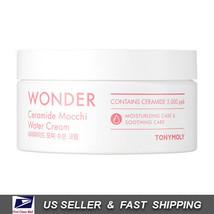 [ Tony Moly ] Wonder Ceramide Mocchi Water Cream 300 ml +Free Sample+ - $18.79